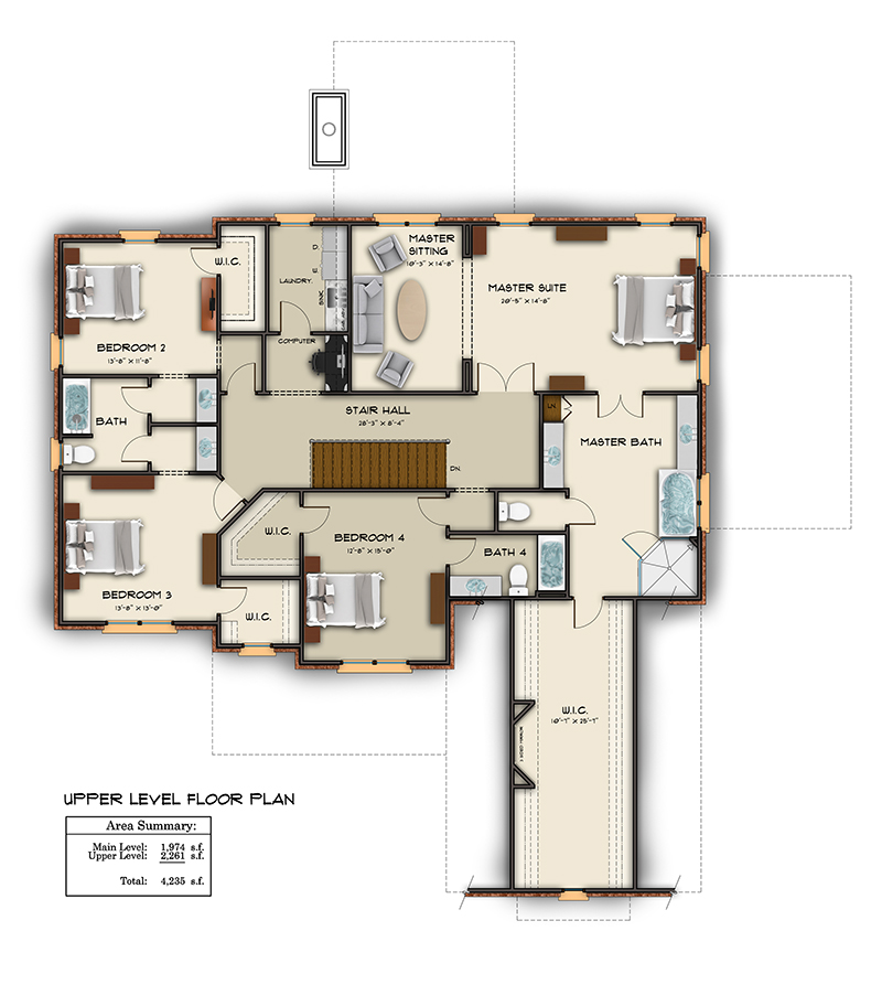Floor plan examples in color and black white for Color floor plans