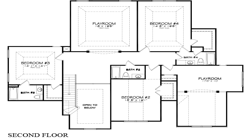 Floor Plan Examples in Color and Black